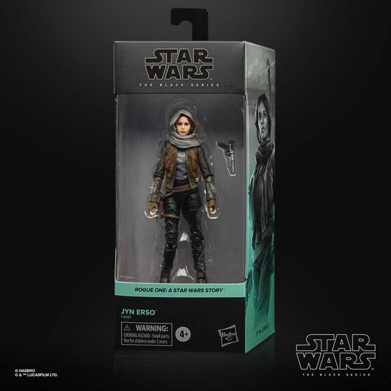 Figura Jyn Erso Star Wars Rogue One Black Series Hasbro
