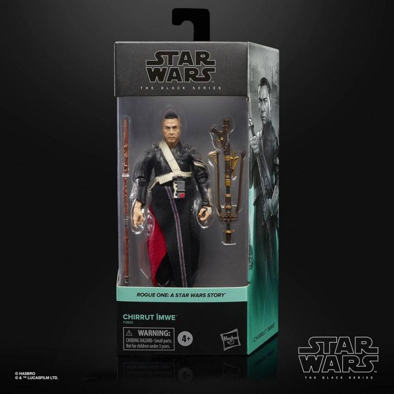 Figura Chirrut Imwe Star Wars Rogue One Black Series Hasbro