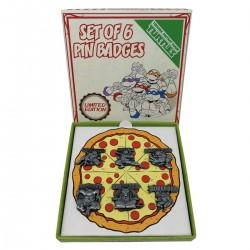 Pack 6 Pines Las tortugas Ninja