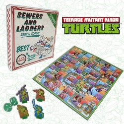 Tortugas Ninja: Sewerds And Ladders Juego De Mesa En Inglés