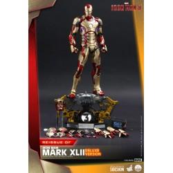 Figura Iron Man 3 Mark XLII Escala 1/4 Hot Toys