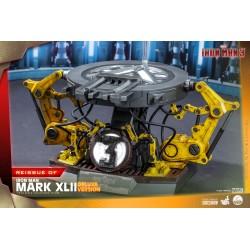 Figura Iron Man 3 Mark XLII Deluxe Version Escala 1/4 Hot Toys