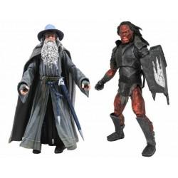 Pack Figuras El Señor De Los Anillos Gandalf Uruk-Hai