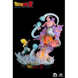 Estatua Gotenks Vs. Majin Buu Dragon Ball Z Escala 1/6