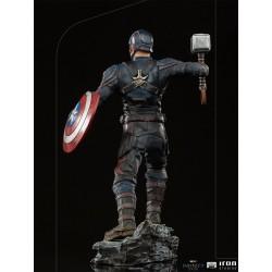 Estatua Capitán América Ultimate Escala 1:10 Avengers Infinity Saga Iron Studios