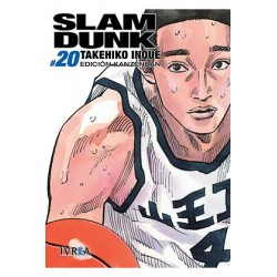 Imagén: Slam Dunk 20 (Edición Kanzenban)