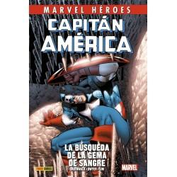 Capitán América de Mark Gruenwald 3. La Búsqueda de La Gema De Sangre