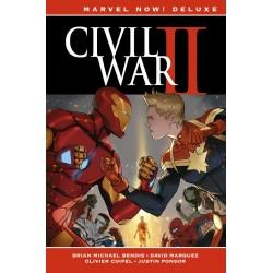 Imagén: Civil War II 1 Marvel Now! Deluxe