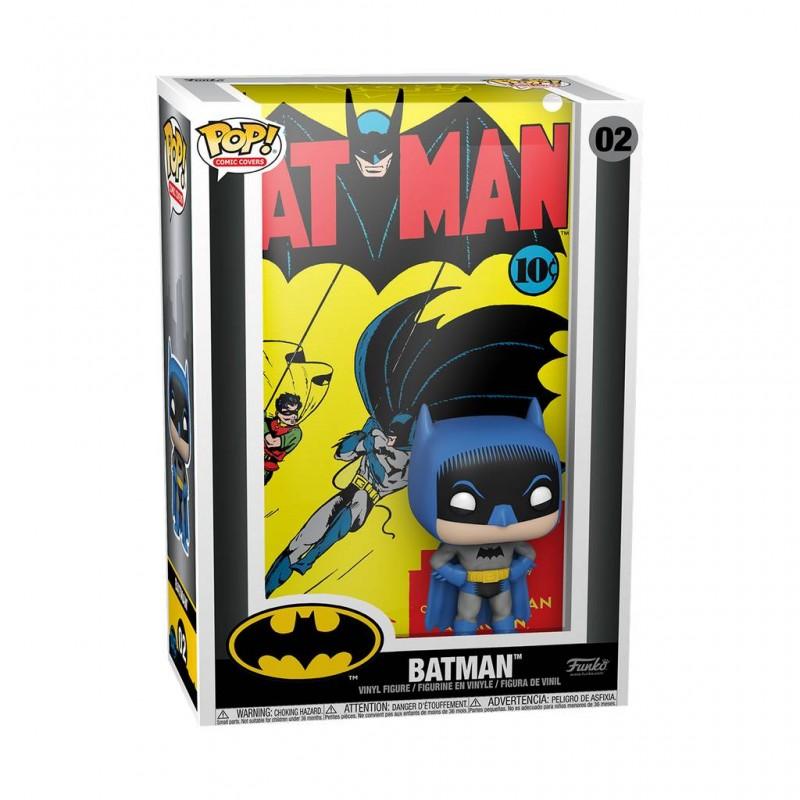 Figura Batman Comic Cover Dc Comics POP Funko 02