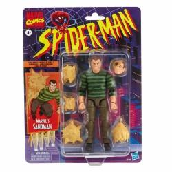 Figura Sandman Spiderman Marvel Legends Hasbro