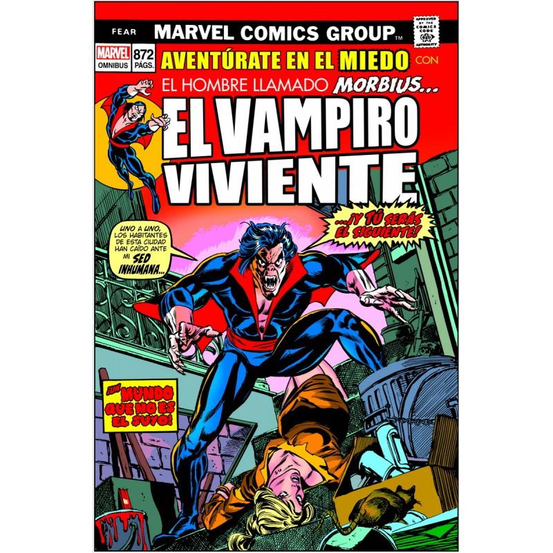 Morbius Classic. Aventura Dentro Del terror. Marvel Omnibus MLE
