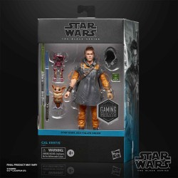Figura Cal Kestis Star Wars Jedi Fallen Order Black Series Gaming Hasbro