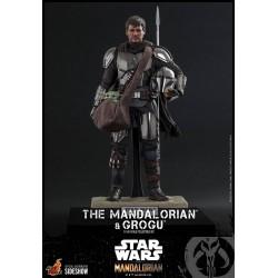 Set Figuras The Mandalorian y Grogu Baby Yoda Star Wars Hot Toys