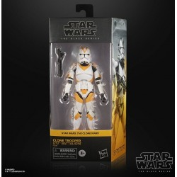 Figura Clone Trooper 212th Battalion Star Wars The Clone Wars Black Series Hasbro
