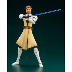 Estatua Obi-Wan Kenobi Star Wars The Clone Wars Artfx 1/10 Kotobukiya
