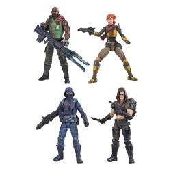 Set 4 Figuras G.I. Joe Classified Hasbro Wave 5 2021