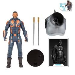 Figura Bloodsport (Unmasked) Suicide Squad Escuadrón Suicida DC Multiverse McFarlane Toys