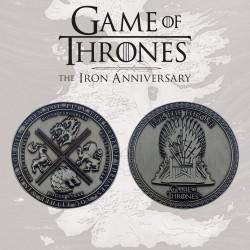 Medallón Juego De Tronos 10 Aniversario Edición Limitada