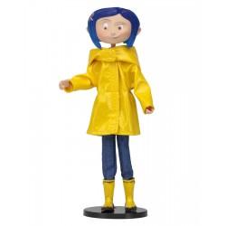 Figura Coraline Con Chubasquero Neca