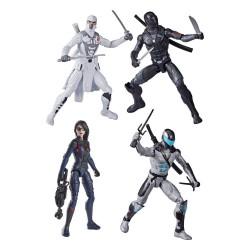 Pack 4 Figuras G.I. Joe Origins Snake Eyes Wave 1 2021