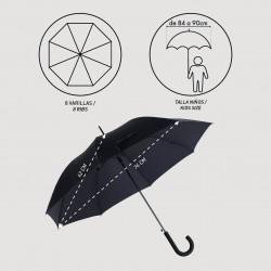 Paraguas Automático Capitán América