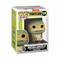 Figura Michelangelo Tortugas Ninja 2 Movies Funko Pop 1136