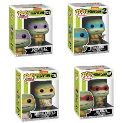Pack Completo Figuras Tortugas Ninja 2 Movies Funko Pop