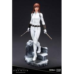 Estatua Black Widow Traje Blanco Edición Limitada ARTFX Premier Escala 1/10 Kotobukiya