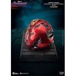 Estatua Casco Iron Man Mark 50 Battle Damaged Avengers Endgame