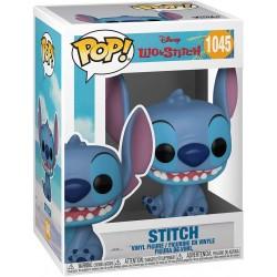 Figura Stitch Sentado Lilo y Stitch Disney Pop Funko 1045