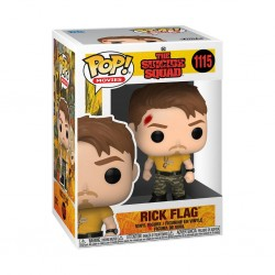 Figura Rick Flag The Suicide Squad DC POP Funko 1115