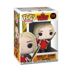 Figura Harley Quinn Damaged Dress The Suicide Squad DC POP Funko 1111