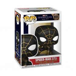 Figura Spiderman Black And Gold Suit Spiderman No Way Home Marvel POP Funko 911
