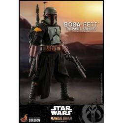 Figura Boba Fett Repaint Armor Star Wars The Mandalorian 1:6 Hot Toys