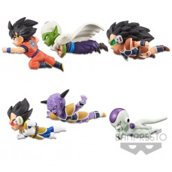 Set de 6 Figuras Dragon Ball Z The Historical Characters World Collectable Figure Banpresto
