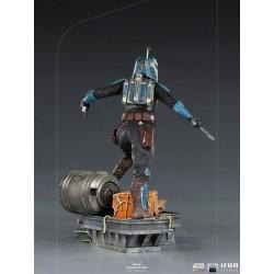 Estatua Bo-Katan The Mandalorian Escala 1:10 Iron Studios