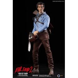 Figura Ash Williams Evil Dead 2 Terroríficamente Muertos Escala 1/6 Asmus Toys