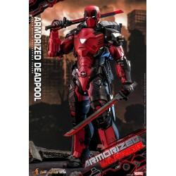 Figura Armorized Deadpool Hot Toys Escala 1:6